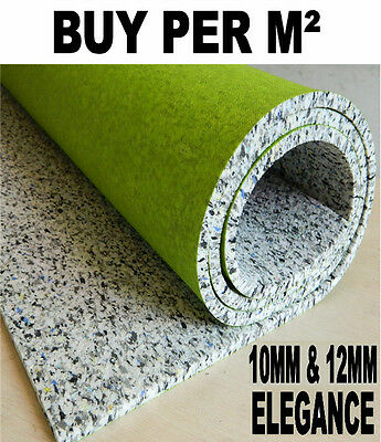 Luxury Carpet Underlay - 10mm or 12mm Thick - High Quality Cushion - Buy Cheap