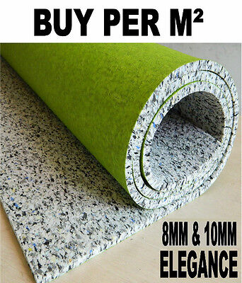 Luxury Carpet Underlay - 8mm or 10mm Thick - High Quality Cushion - Buy Cheap