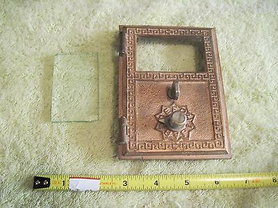 Antique Vintage Metal  Door Brass Mail