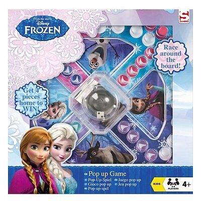New Disney Frozen Mini Pop Up Board Game - Girls Kids Fun Family Gift Present