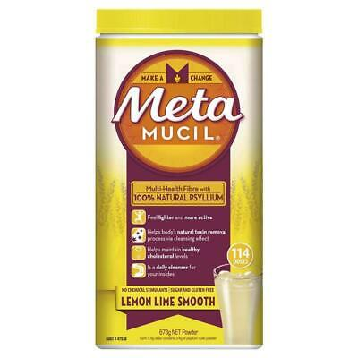 Metamucil Smooth Lemon Lime 114 Doses 673g