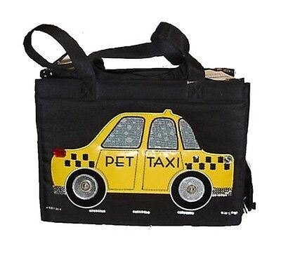 "sac polochon porte chats-chiens - o autres animaux ""Taxi"""