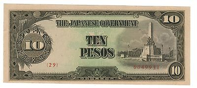 WW2 Occupied Phillipines - Japanese Occupation Money - GREAT!