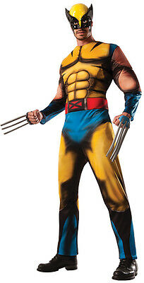 Wolverine Deluxe adult muscle chest costume X-Men