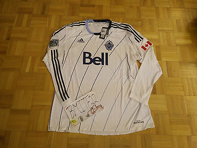 NWT Vancouver Whitecaps Adidas MLS Formotion Long Sleeves Soccer Men Jersey XXL