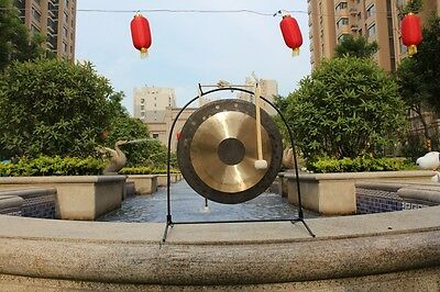 22'' Chau Gong with Mallet Chinese Traditional Gong Tam Tam Gong, No Gong Stand