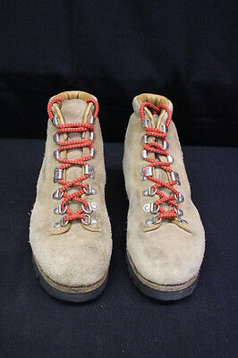 b1959d61c45 PIVETTA FOR DMC Leather & Suede Hiking Boots VIBRAM SOLE, Mens, Size 7.5B,  Italy