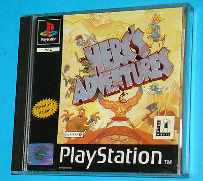 Herc's Adventures - Sony Playstation - PS1 PSX - PAL