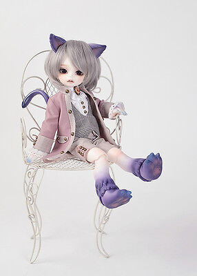 1/6 Bjd Doll SD Cheshire Cat Free Face Make UP+Eyes_ animal body