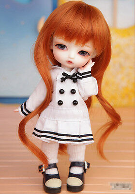 1/8 BJD doll SD Doll Tiny Delf ALICE FREE FACE MAKE UP+EYES B