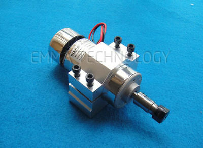 DC 12-48v CNC 300W Air cool Spindle Motor with ER11 Mount bracket NEW