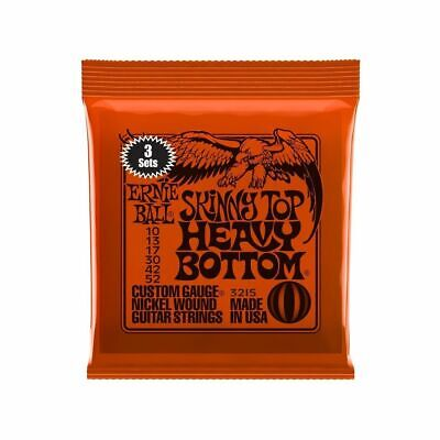 "3 x Ernie Ball 2215 Skinny Top - Heavy Bottom Satz 010""-052"""