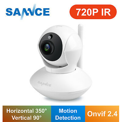 WIFI Wireless 720P Network H.264 Security IP Camera Email Alert 2 Way Audio AU