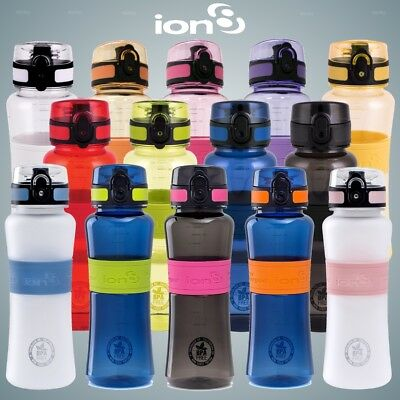 Ion8 Leak Proof Ultimate Hydration Sports Water Bottle BPA Free 550ml