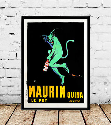 1920 MAURIN QUINA Vintage Poster by  Leonetto Cappiello- Multiple Sizes