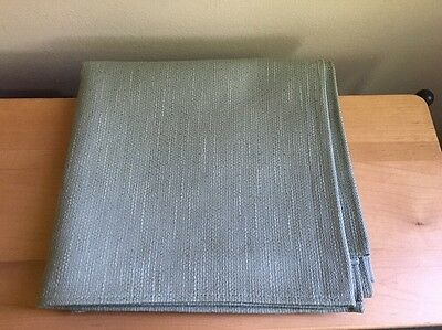 "Longaberger 36"" Sage Greeb Fabric Table Square / Overlay"