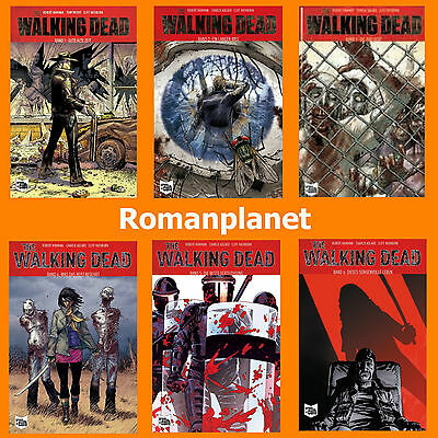 The Walking Dead - Softcover - Band 1+2+3+4+5+6 - Alle 6 Comics im Set - Neu