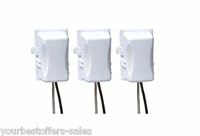 Kidco Plug Covers Universal 3 Pack Baby Safety Electric Baby Protector White New