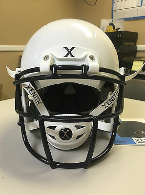 2016 Xenith X2E Football Helmet With Mask Color White Size Youth Medium (Hc-420)