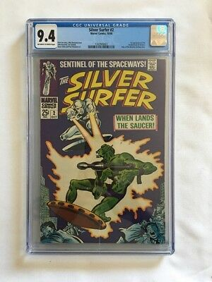 Silver Surfer #2 CGC 9.4