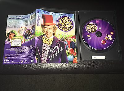 GENE WILDER signed WILLY WONKA & THE CHOCOLATE FACTORY 40th Anniversary DVD