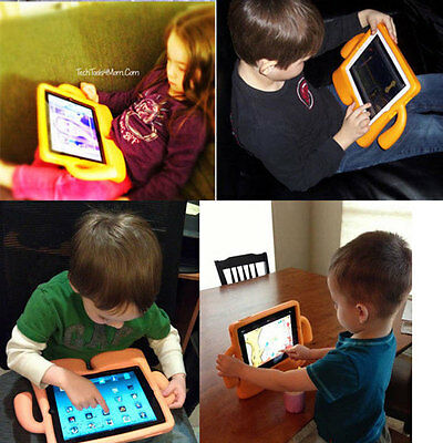 Kids Proof Shockproof Protective EVA Foam Stand Case Cover For Apple iPad 2 3 4