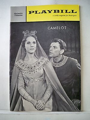 CAMELOT Playbill JULIE ANDREWS / WILLIAM SQUIRE / ROBERT GOULET NYC 1962