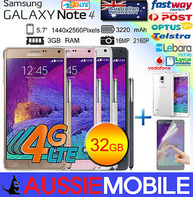 NEW GENUINE SMASUNG GALAXY NOTE4  LTE 4G  32GB Unlocked