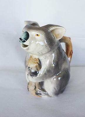 Vintage Retro Australiana Koala Jug Marutomo Ware Excellent Condition
