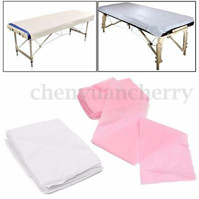 10Pcs Beauty Massage Waterproof Disposable Bed Table Cover Sheets 80X180cm