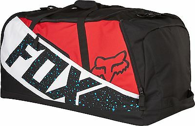 Fox 17 Podium 180 Nirv GB MX Gear Bag Red White Motorcycle Luggage Carry Bag