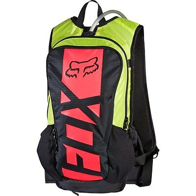 Fox 17 Small Camber Hydro Bag Black Yellow 10L Off Road Backpack