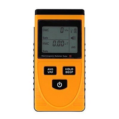 Digital LCD Electromagnetic Radiation Detector Meter Dosimeter Tester Counter WS