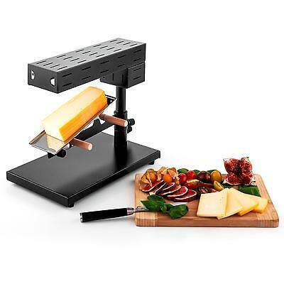 APPAREIL GRILL A RACLETTE FROMAGE oneConcept CUISINE CONVIVIALE THERMOSTAT 600W
