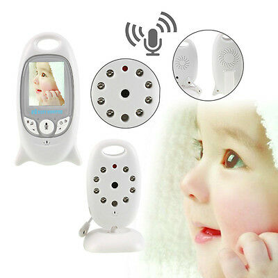 New Hot Wireless Digital LCD Color Baby Monitor Cameras Audio Video Night Vision