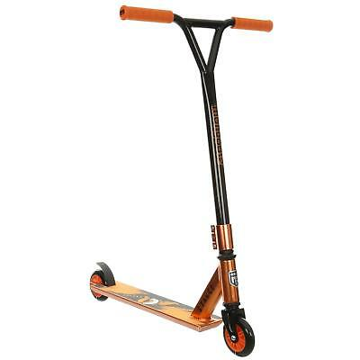 Mongoose Stance Kids Outdoor Steel Frame 100mm Wheels Push Stunt Trick Scooter