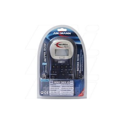 New Ansmann Energy Check LCD battery test station for button/coin cells