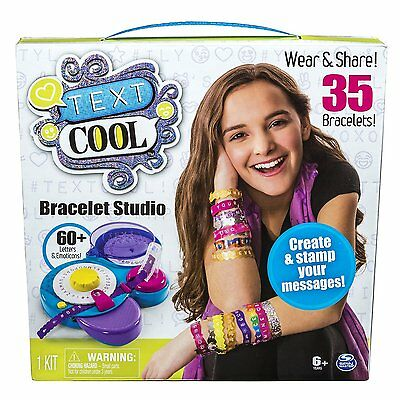Text Cool, Bracelet Studio