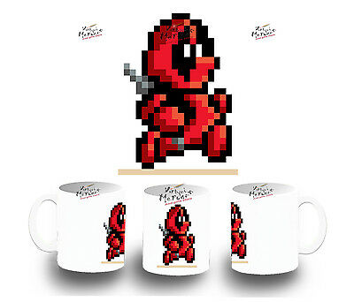 TAZA BLANCA DEADPOOL RETRO TOY MUG tazza tasse es