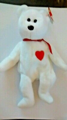 Retired Ty Valentino Beanie Baby- Very Rare with Swing Tag   Tush Tag Error. 660828b69503