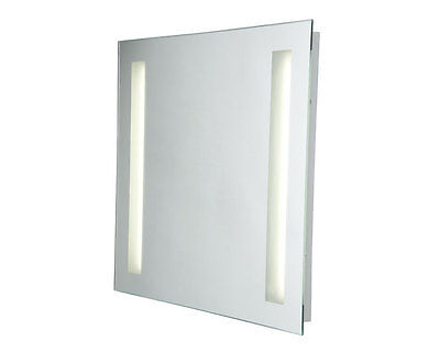 Robus R6060T5 Square Mirror With Frosted Strip Lights New