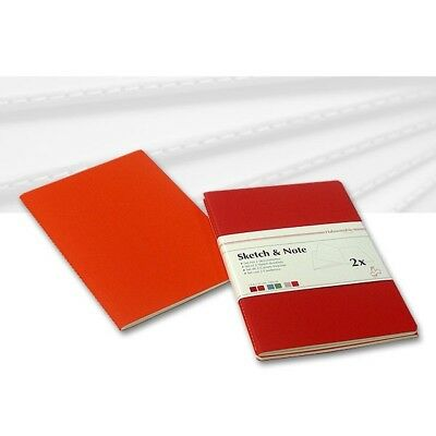 Skizzenheft Sketch & Note, Red Bundle A3 hoch 125g/m², 40 Seiten, 2er Set