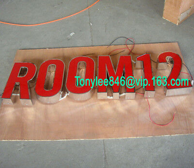 customized led sign letters ,made by stainless steel and arylic,channel letters