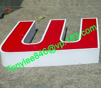 customized led lighting sign letters,building signage channel letters 12''