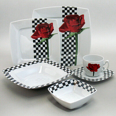 Porcelain Dinnerware Set Grand Prix fine European china