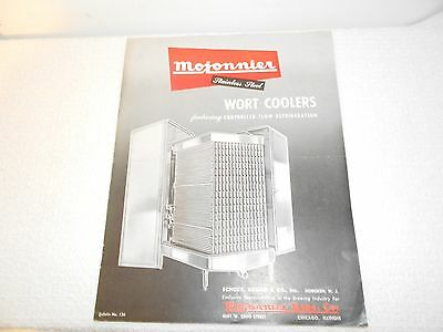 Mojonnier Stainless Steel Wort Coolers Bulletin No. 136 1940s