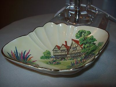 Royal Winton Red Roof/ Old Manor House -  Pin Dish
