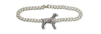 Brittany Dog Bracelet Handmade Sterling Silver Dog Jewelry BR7-B