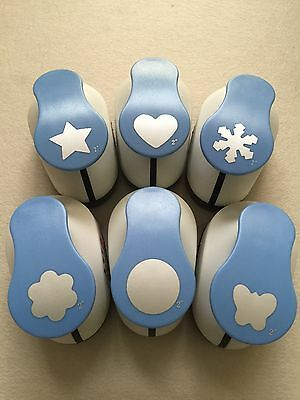 CRAFT PAPER PUNCH  SCRAPBOOKING W. PAPER,CARD & EVA-22 designs/sizes!
