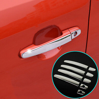 Fit For Toyota Camry Corolla Rav4 Chrome Door Handle Cover Trim Bezel Molding